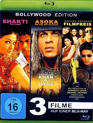 Shakti The Power - Bollywood Award Show - Asoka mit Shakrukh Khan (3Filme) (Blu-ray) (Bollywood Mit Shahrukh Khan)
