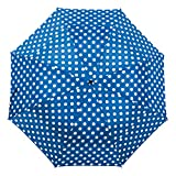 Windproof Double Vented Umbrella Wind Resistant Strong Open Close Compact Folding Vented Brolly