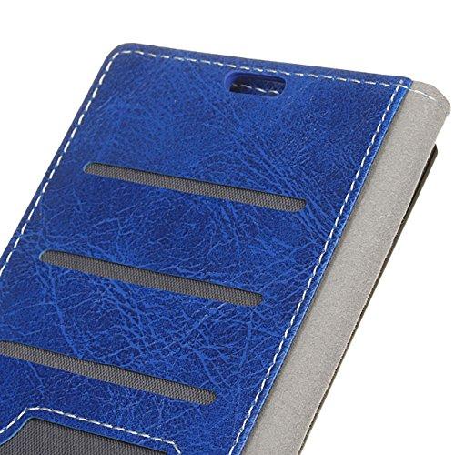 AddGuan iPhone 8/7 Case,Portafoglio Coperture Telefoniche Cuoio PU Avanzato ,Flip Custodia Case Adatto Per iPhone 8/7 Case (Blu) Blu