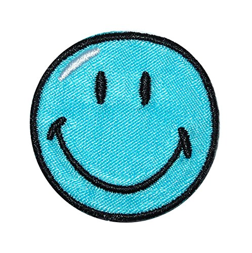 bugelbild-smiley-blau-38-cm-38-cm-aufnaher-gewebter-flicken-applikation-gesichter-smile-emotion-smil