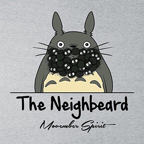 Cloud City 7 The Neighbeard My Neighbor Totoro Women's Vest Heather Grey