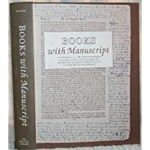 Books with Manuscript