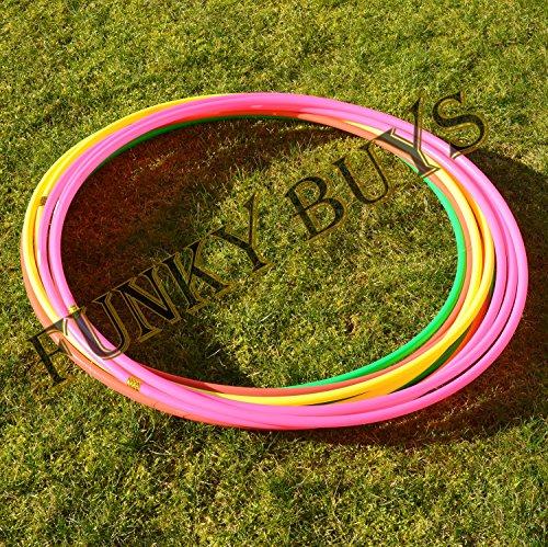 Funkybuysâ® 4pk Quality – Fitness Hula Hoops