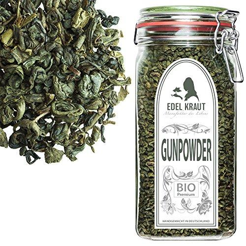 EDEL KRAUT | BIO GUNPOWDER 1.St GRADE Grüner Tee im Premium GLAS 350g