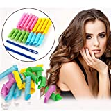 18piezas Magic rizadores para el cabello Curl multiplicador con estilo gancho