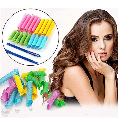 Foto de 18piezas Magic rizadores para el cabello Curl multiplicador con estilo gancho