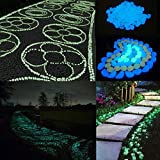 Bazaar 50Weg-Garten Décor Urlaub noctulescents beleuchtet Kieselsteine künstlichen Steine
