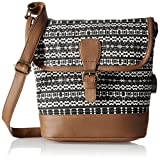 Kanvas Katha Women's Sling Bag (Black) (KKRAZ003)