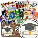 Zur Promotion | Spezial Geschenk Box | Geschenk Ideen | Zur Promotion | inkl Markenbuch | DDR Paket | Promotion Geschenk für Mediziner | mit Gurken Snack Get One, Pfeffi Stangen und mehr