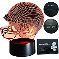 InnoWill Football Geschenk LED Lampe 7Colors