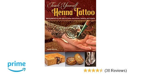 Mehndi Henna Kit Review : Teach yourself henna tattoo making mehndi art with easy to follow