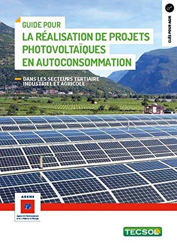 Guide pour la réalisation de projets photovoltaïques en autoconsommation: Secteurs tertiaire industriel et agricole (Clés pour agir) par Jean-Yves Quinette