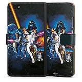 Huawei P8 lite (2015-2016) Tasche Hülle Flip Case Star Wars Merchandise Fanartikel Episode IV