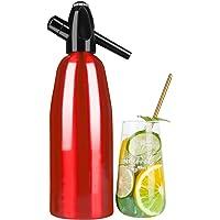 ILH Soda Siphon Crystal Maker Eau pétillante Soda Makers pour l'ajout Individuel d'acide carbonique dans l'eau du…