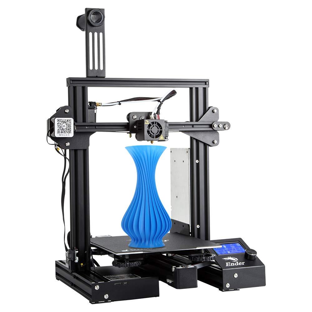Creality 3D Imprimante 3D Ender-3 Pro avec Plaque de Mise à Niveau Cmagnet Build et Bloc d'alimentation Certifié UL