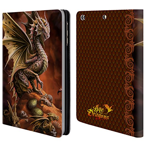 official-anne-stokes-desert-age-of-dragons-leather-book-wallet-case-cover-for-apple-ipad-mini-1-2-3
