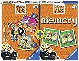 Multipack Ravensburger: una perfetta idea regalo. 3 puzzle di diversa pezzatura e un memory originale Ravensburger all'interno della stessa confezione. Il bambino inizia dal puzzle più semplice e in modo progressivo impara a realizzare il puz...