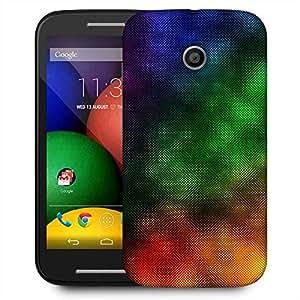 Snoogg Color Design 2370 Designer Protective Phone Back Case Cover For Motorola E2 / MOTO E22