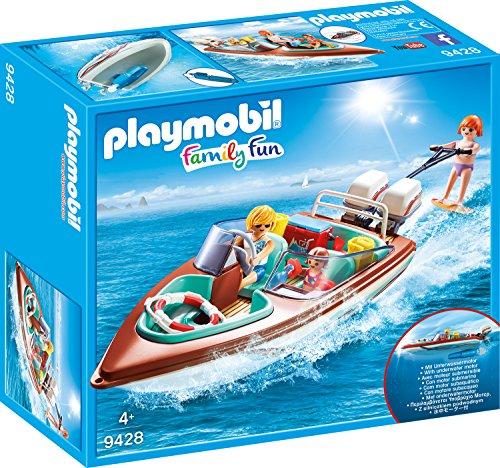 Playmobil 9428 - Motorboot mit Unterwassermotor Spiel Das Boot Spiel