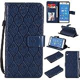 Sony Xperia Z3 Plus (Z3+) / Z4 Case, Lomogo Leather Wallet