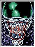 imagenation Alien 'Cartoon'?60cm x 80cm impresión en láminas autoadhesivas papel Póster
