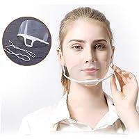 10 pezzi Visiera Bocca Paraschizzi Face Shield Trasparente Coperchio Antinebbia Proteggi Gli Occhi e Il Viso per Cucina…
