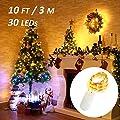 Ustellar 16er 3M Lichterkette Kupferdraht LED Lichterketten von Ustellar auf Lampenhans.de
