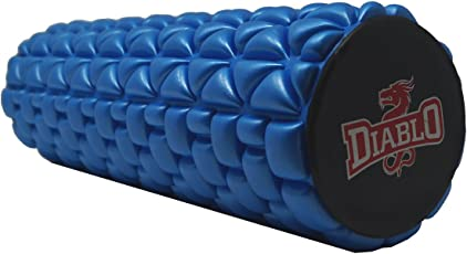 Diablo Self Myofascial Release,Self massage,Trigger Point release,Mobility,Acupressure Back, Therapy Yoga Gym Physio Injury Foam Roller High Quality,High Density,Balance Excerciser (Length 13 INCH ,Blue)