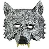 Auspicious beginning Creepy visage de loup mascarade pour cosplay Halloween Day