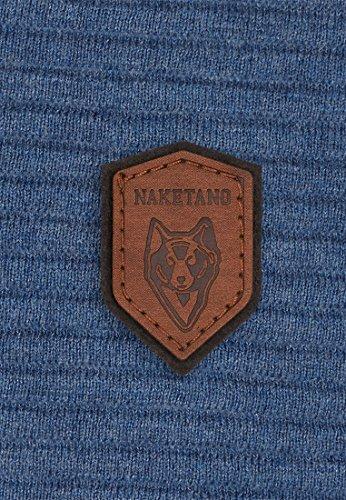 Naketano Male Knit Zapzarap Zip Zap Blue Melange