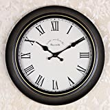 OLILEIOContinental Retro moderne, minimalistische kreative Persönlichkeit Mute Armbanduhr Quarzuhr amerikanische Schlafzimmer Wohnzimmer Uhr Second Hand (14 Zoll, 16 Zoll) ,16 Zoll, 06 Kurzwahleinträge