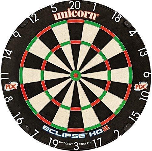 Brand UNICORN ECLIPSE HD 2 TV Edition Borste Brett PDC unterstützt Dartscheibe