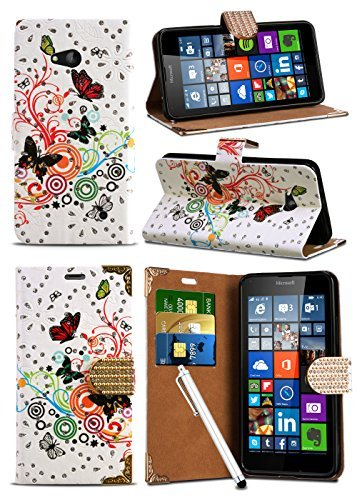 alcatel-one-touch-pixi-3-35-inch-4009-4023-butterfly-sparkle-glitter-crystal-diamond-encrusted-closu