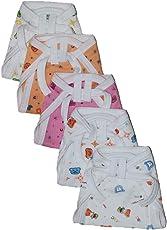 Montu Bunty Wear Infant's Cotton Nappies (White Print_New Born)