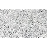 1kg Clear Glass Granules Mixed With Mirror Granules 1-4mm