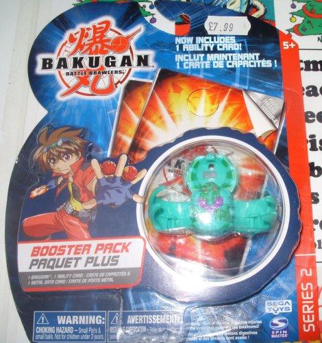 Bakugan Battle Brawlers B2 Bakuswap Legendary Series: B2 Green Apollonir Booster Pack with Random Gate and Ability Card
