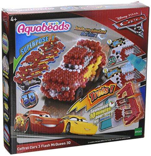 AQUA BEADS Aquabeads–31059–Coffret–Cars 3Flash McQueen 3D