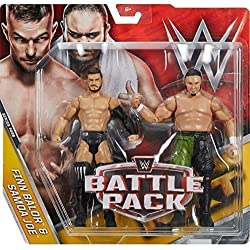 WWE Battle Pack Serie 43.5 Action Figure - Finn Balor 'Balor Club Abito' V Samoa Joe 'NXT abito'