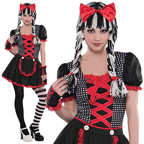 Doll Kostüm Gothic - Christy 's Gothic Doll Teen Kostüm (S)