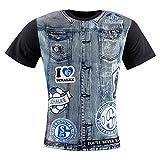 FC Schalke 04 T-Shirt Kids Kutte schwarz, Kindergrößen:128