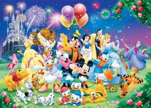Nathan 87616 - Puzle (1000 Piezas), diseño de la Familia Disney