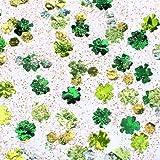 Glitter Glue Confetti Kleeblatt grün/gelb 53ml