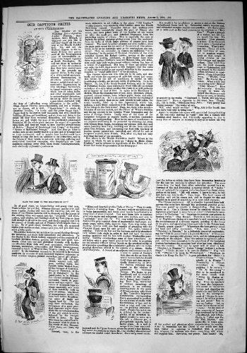 stampa-antica-di-sport-del-critico-criticone-healtheries-di-notizie-1884-drammatici