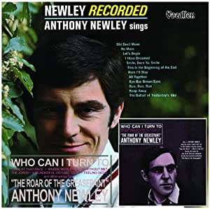 Anthony Newley Newley Recorded & Who Can I Turn To?