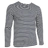Search : Russian Navy Telnyashka LONG SLEEVE T-Shirt - Navy Blue Stripes