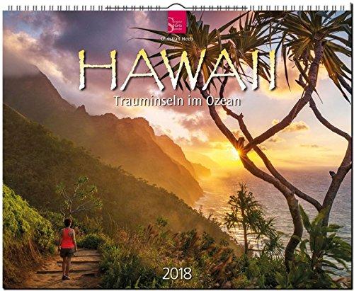 HAWAII - Trauminseln im Ozean: Original Stürtz-Kalender 2018 - Großformat-Kalender 60 x 48 cm