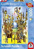 Schmidt Colin Thompson Castle in The Air Premium Quality Jigsaw Puzzle (1000-Piece)