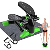 DACHUANG Exercise Stepper, Mini Aerobic Stepper Machine with Display