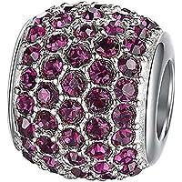 Pulsera de moda de perlas artificiales de diamantes