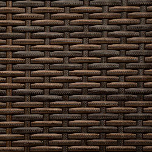 TecTake Aluminium Poly Rattan Gartenmöbel | Braun | -verschiedene Modelle- (Typ 1 | no. 402216) - 4